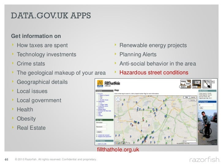 DATA.GOV.UK APPS       Get information on      ‣    How taxes are spent                                                   ...