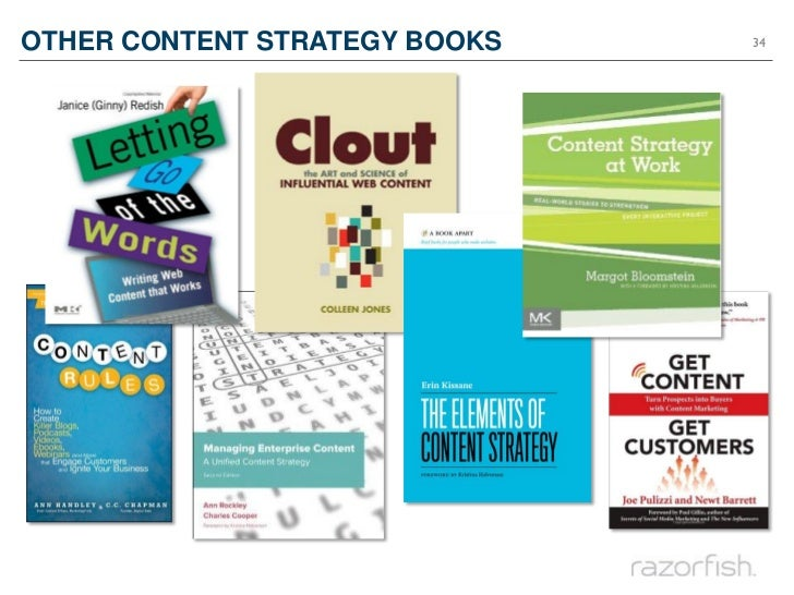 OTHER CONTENT STRATEGY BOOKS   34