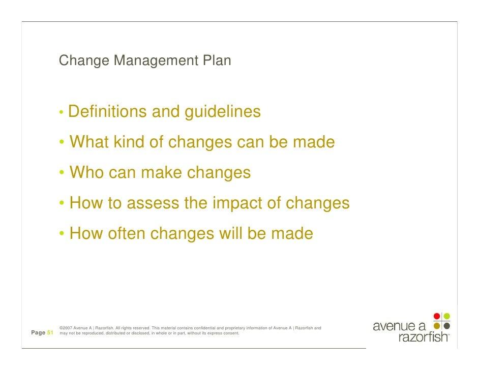 vorbestellen neue Season schön Design Change Management Plan • Definitions