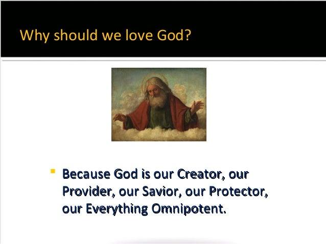 Loving GOD - Melanie Slide 3