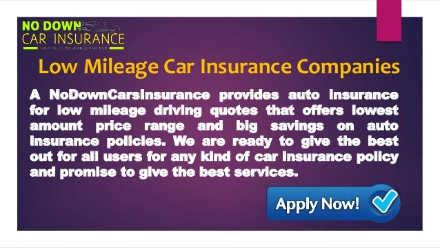 How to Buy Cheap Car Insurance for Low Mileage Drivers at ...