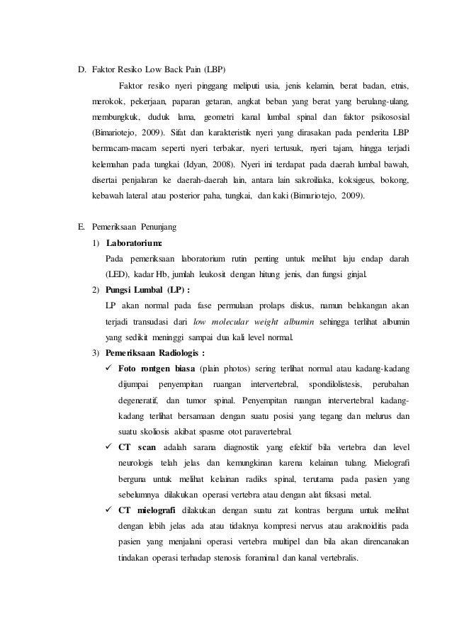 Laporan Kasus Low Back Pain ec Ankilosis Spondiolosis (Fairuz)