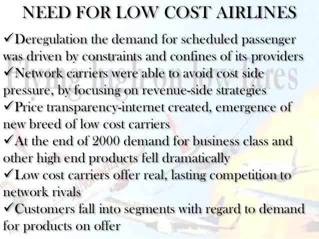 survival of low cost airlines in Low-cost and traditional airlines: ratio analysis and equity valuation by the residual earnings model master thesis spring semester 2007 supervisor: stefan sundgren.