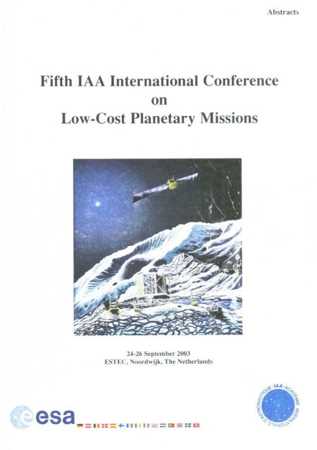 Low cost planetary missions september 2003