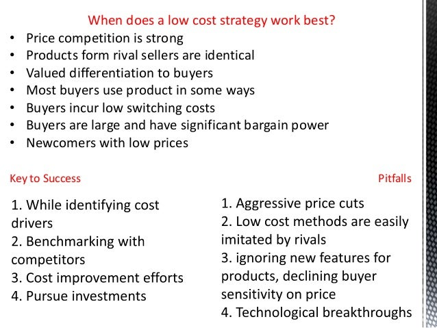 low cost strategy