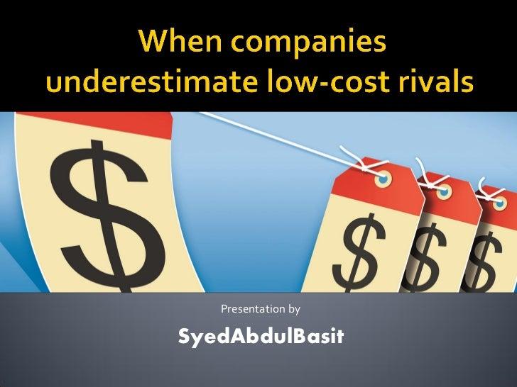 Presentation bySyedAbdulBasit