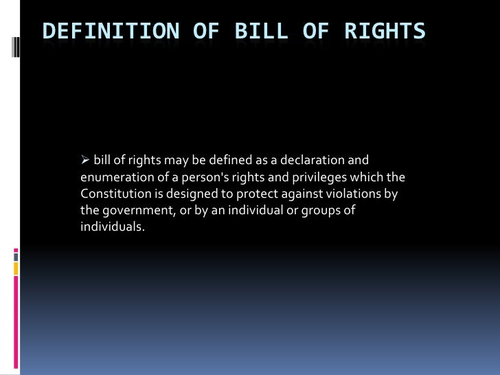 the bill of rights term paper Founding father james madison first proposed back in 1789 along with other amendments that became the bill of rights, but it took 203 years for it to become the law of the land in 1982, a college undergraduate student, gregory watson, discovered that the proposed amendment could still be ratified and.