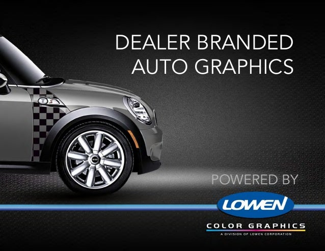 Dealer BrandedAuto Graphicspowered by