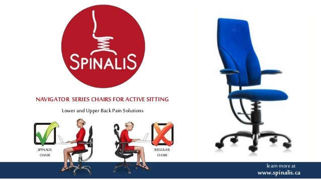 lower and upper back pain solutions with spinalis navigator series ch