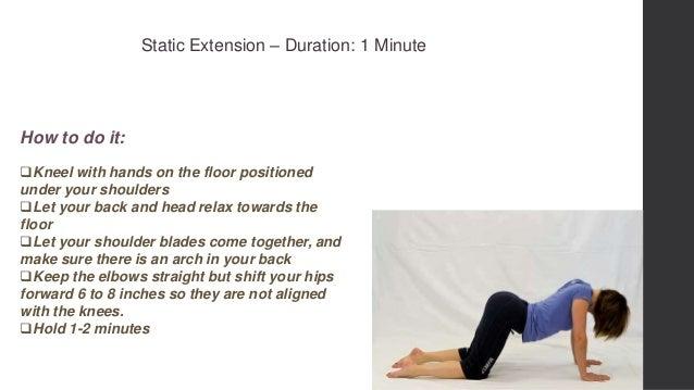 Lower Back Strengthening Exercise