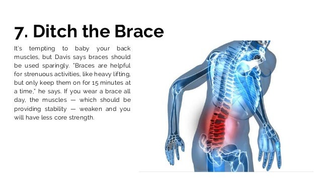 how to help sore back muscles