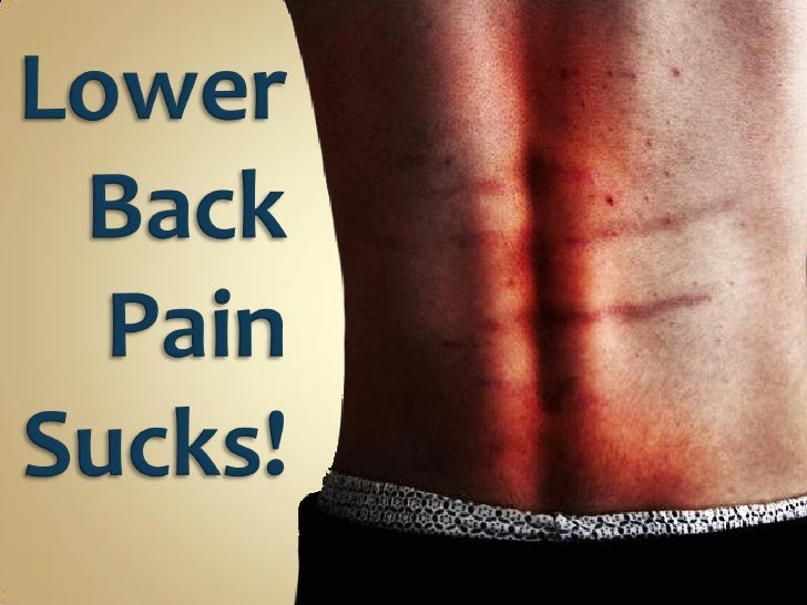 At some point in their lives, over 86 percent of the word's population will suffer from lower back pain.