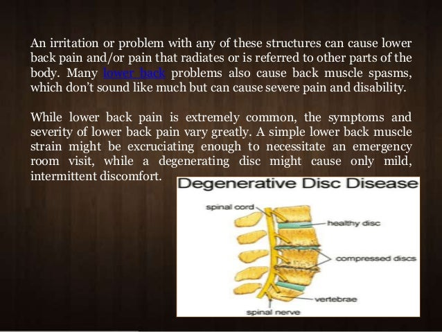 See how easily you can control spinal arthritis and back ...