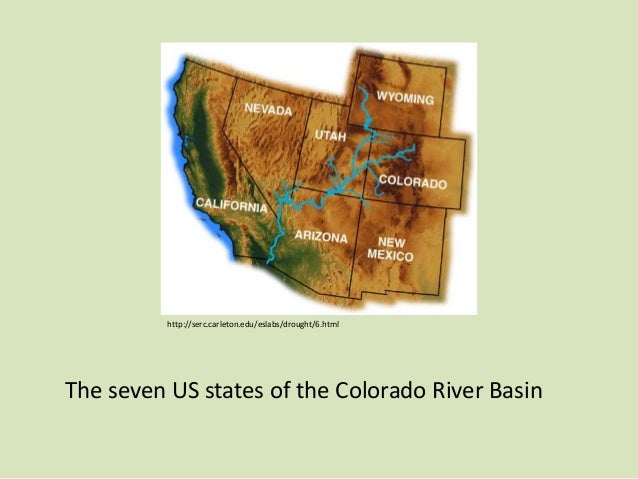 an analysis of the colorado river project Upper colorado river basin (ucrb)  in 2017 to guide additional analyses.