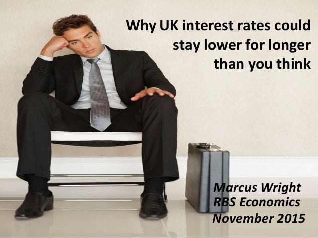 Why UK interest rates could stay lower for longer than you think Marcus Wright RBS Economics November 2015