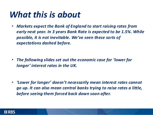 Why UK interest rates could stay lower for longer than you think Slide 3
