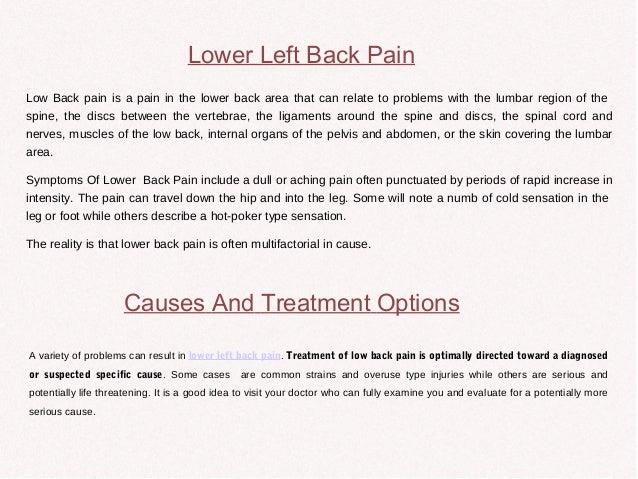 Dreaded Lower Back Pain