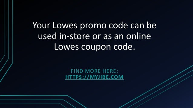 Lowes Coupons Generator