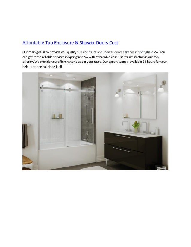 Lowes Tub Enclosure & Shower Doors Best Ideas in Springfield VA