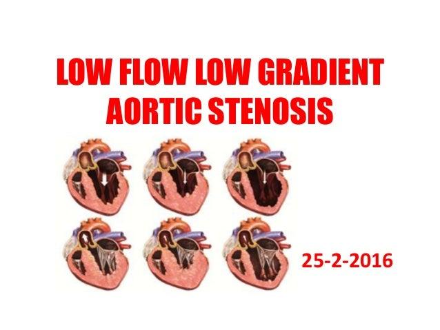 LOW FLOW LOW GRADIENT AORTIC STENOSIS 25-2-2016