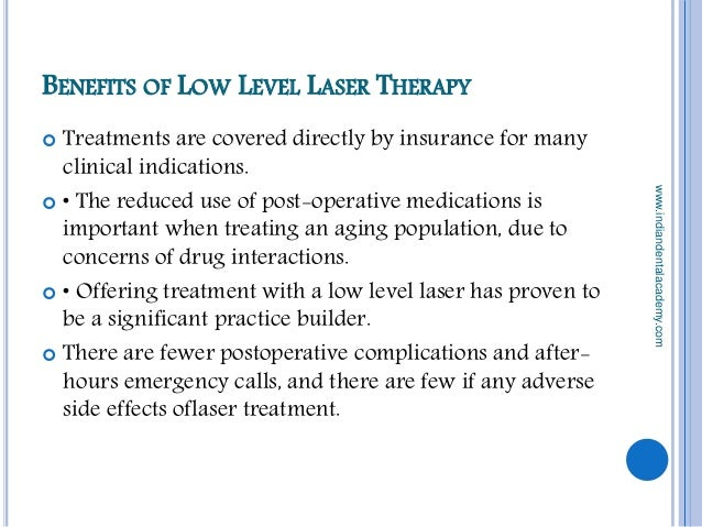 Low Level Light Theraphy Prosthodontic Courses