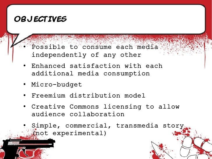 objectives    • Possible to consume each media    independently of any other  • Enhanced satisfaction with each    additio...