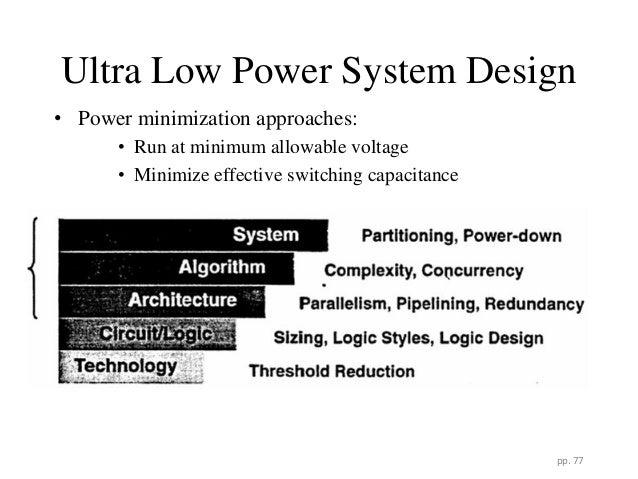 Low power vlsi design ppt