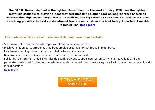 New Balance Tactical Mens Desertlite 8-Inch Boot