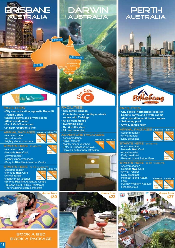 Nomads Package Brochure Travel