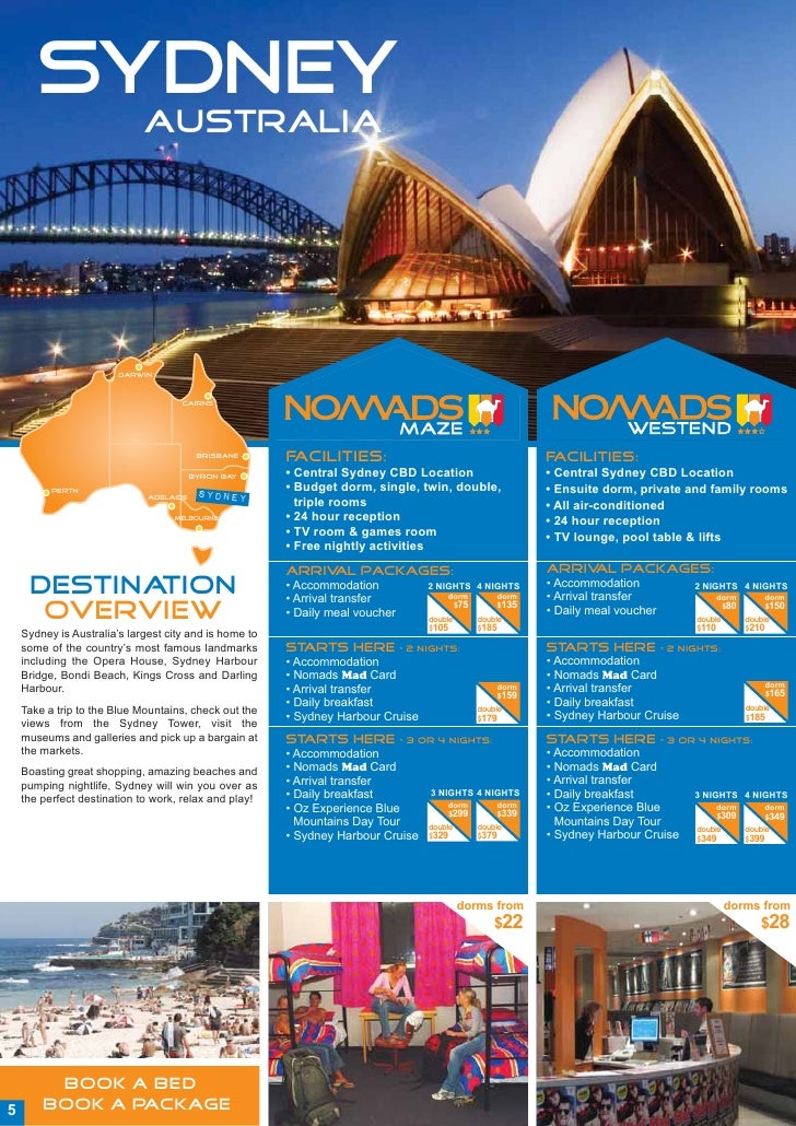 Nomads Package Brochure