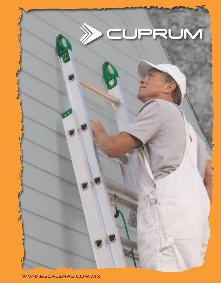 Catalogo de escaleras cuprum for Escaleras cuprum