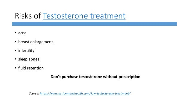 Low testosterone treatment Benefits Vs Risks