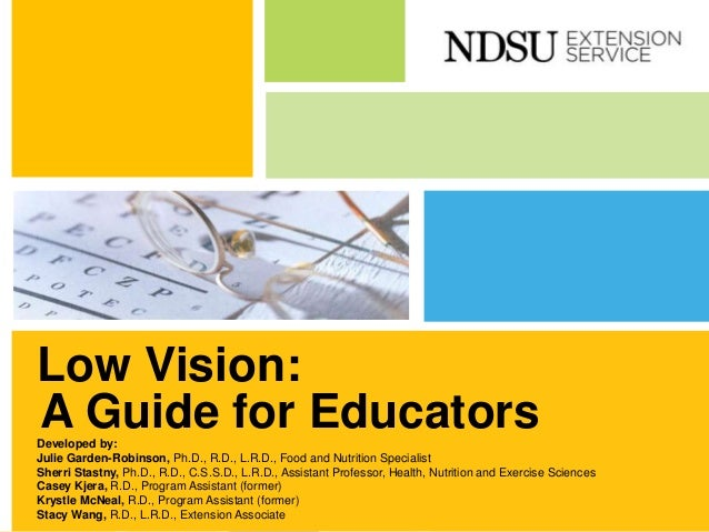 543b3ef97944 Low Vision  A Guide for Educators