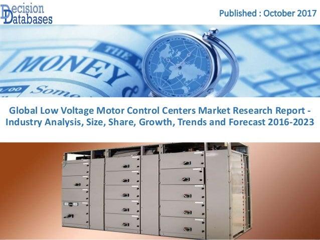 Low voltage motor control centers market report 2016 2023 for Low voltage motor control