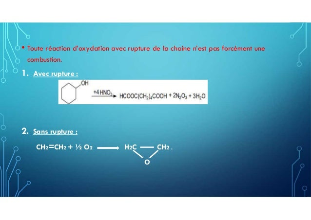 L'oxydation Slide 3