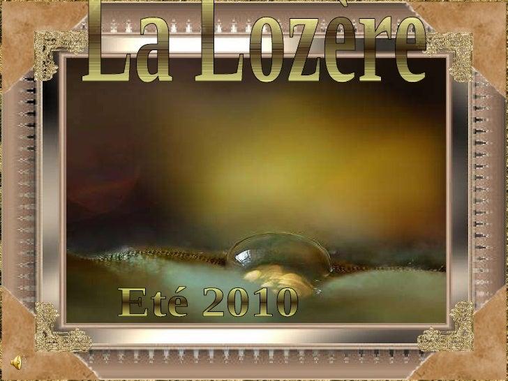 La Lozère Eté 2010