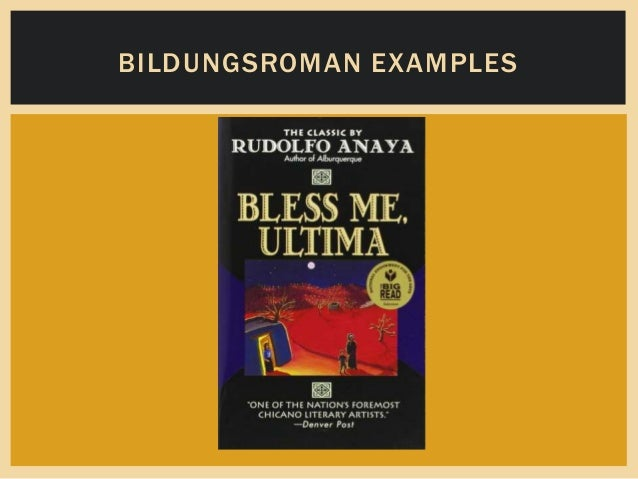 exploring the use of allusions in the novel bless me ultima Authors : rudolfo a anaya anaya's first novel, bless me, ultima many of anaya's works blend elements from chicano and anglo culture and explore how personal.