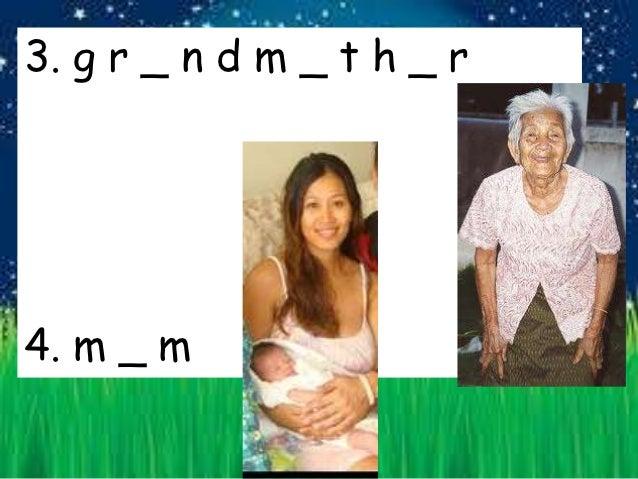 Family Vocabulary for 1st Grade Thai Students Slide 2