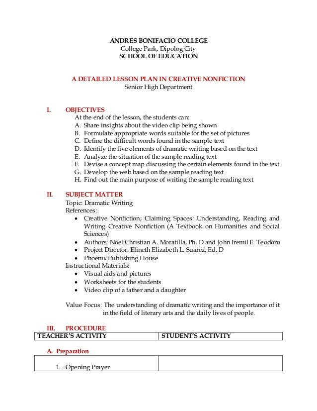creative writing worksheets high school