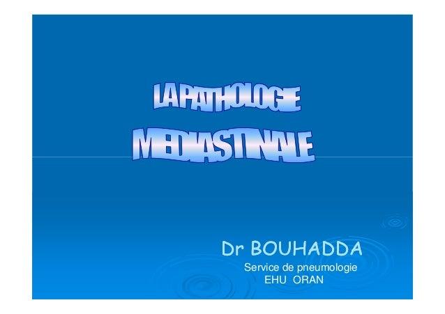 Service de pneumologie EHU ORAN