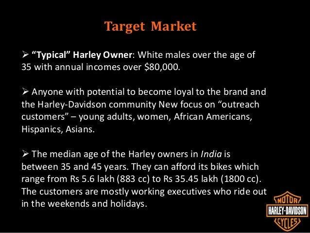 harley davidson positioning statement