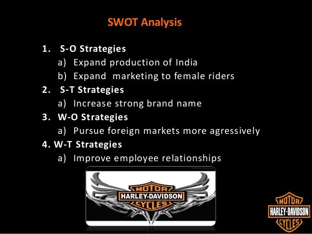 analysis of harley davidson india Harley-davidson to attack middleweight motorcycle markets with 500-1250cc motorcycle, make a 250-500cc motorcycle for india and expand its electric portfolio, set to debut with livewire in 2019.