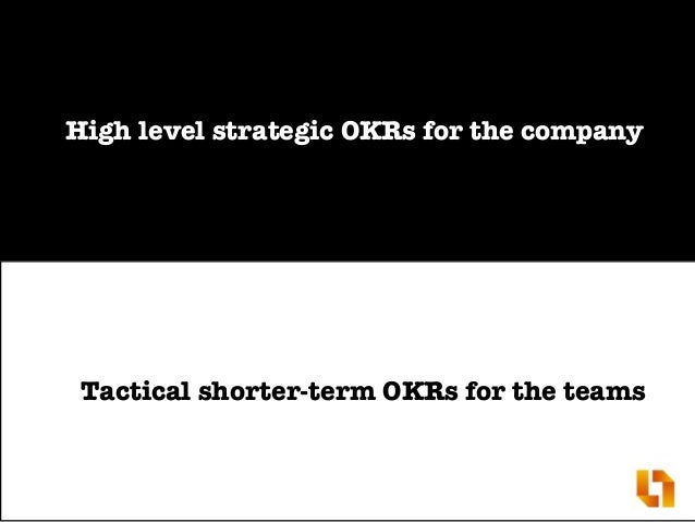 How OKR complements Agile and Lean