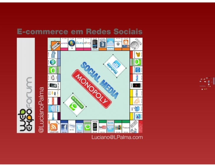 E-commerce em Redes Sociais (Web Expo Fórum 2011, Luciano Palma)