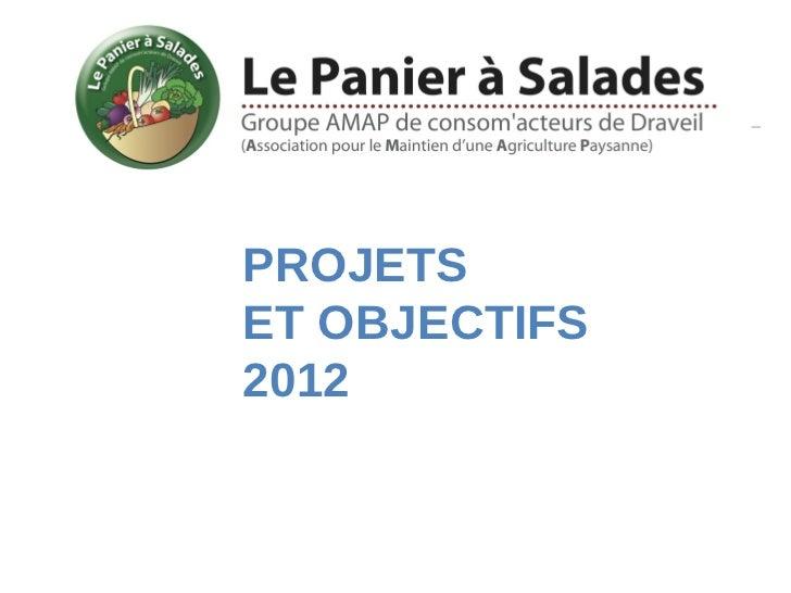 PROJETSET OBJECTIFS2012