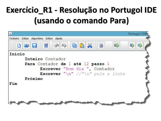 Vale lembrar!  Operação completo  Operação resumida (C#)  O que faz  Contador = Contador + 1  Contador++  Incrementa 1 na ...