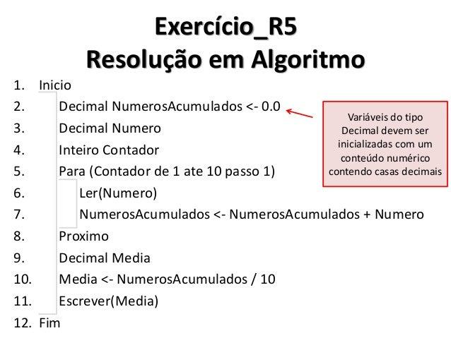 """Exercício_R5 Resolução em C#  Em C#, você poderá utilizar a letra """"m"""" (minúscula) no final de um número para convertê-lo n..."""