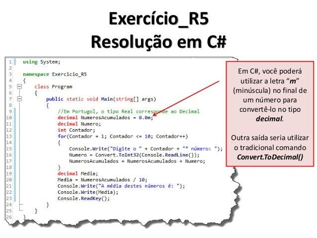 Exercício_R6 Resolução em Portugol IDE
