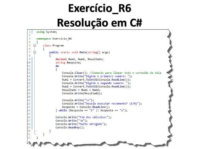 Exercício_R7 Resolução em Portugol IDE