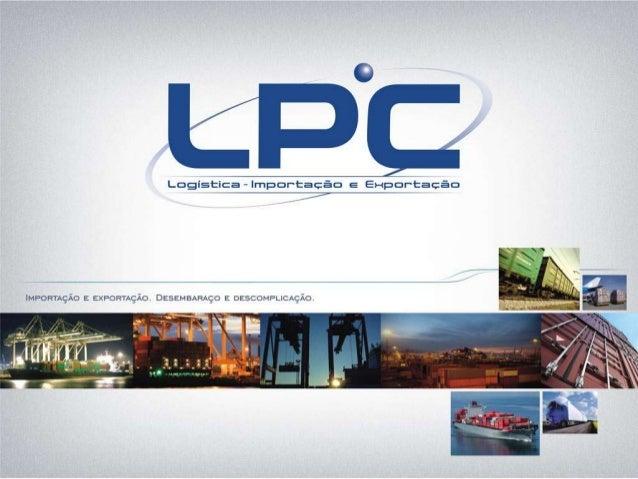 LPC - Logística Importação e Exportação